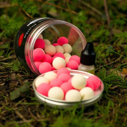 eclipse baits tuna and krill pink white popups