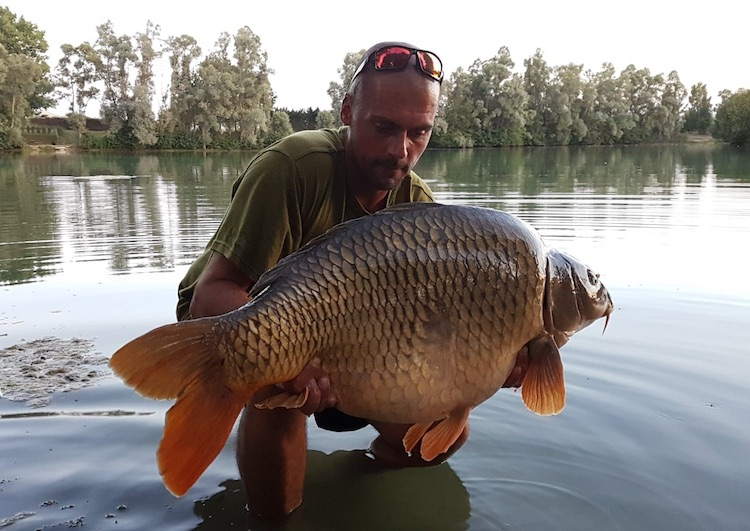 Simon Bush Eclipse Baits team member
