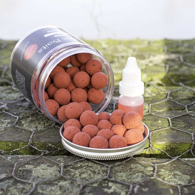 Eclipse Baits Cherry Virus popups