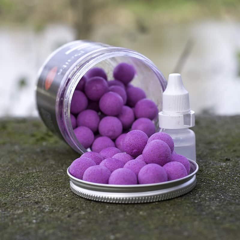 Eclipse Baits blackcurrant Popups 14mm